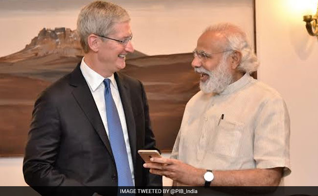 Looking Forward To Opening Retail Stores In India, Says Apple CEO Tim Cook