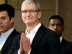 Apple's Tim Cook Meets Bharti Airtel Chief Mittal