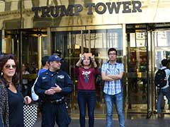 Trump Tower Becomes Hot New York Tourist Magnet