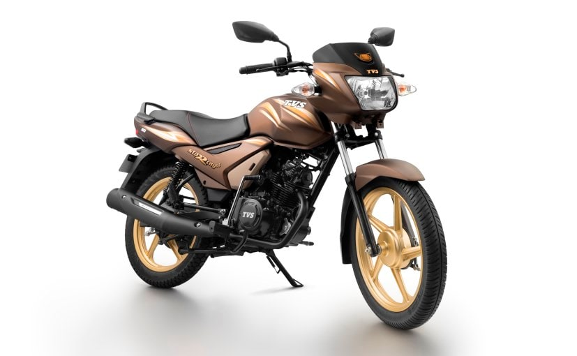 TVS Star City+ Chocolate Gold Edition Launched; Priced at ...