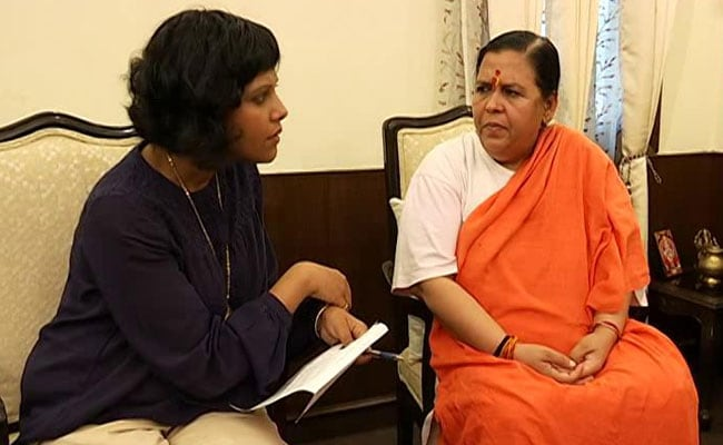 'Ajit Singh Has Lost Forever,' Says Uma Bharti Amid Buzz On UP Alliance