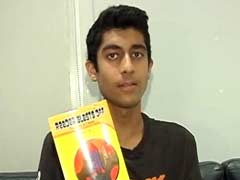 Mumbai Teenager Pens Books For The Visually Challenged