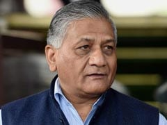 VK Singh Visits Saudi Arabia To Help Laid-Off Indian Workers