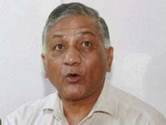 China Can't Have Double Standards On Terrorism, Says Union Minister VK Singh