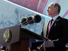 On Victory Day, Vladimir Putin Calls For Non-Bloc Security