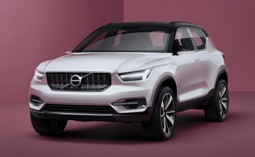 Volvo shows off '40 series' electric small auto concepts