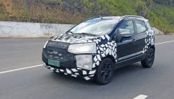 2017 Ford EcoSport Facelift Caught Testing in Brazil