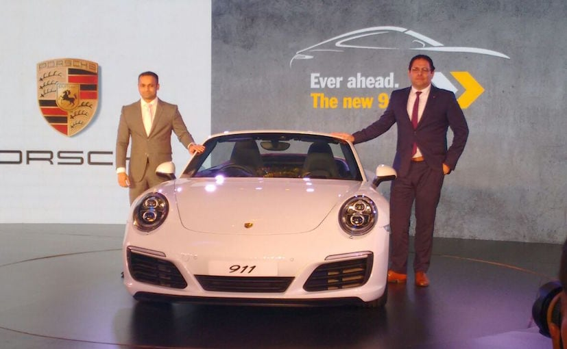 2017 porsche 911 range launched in india prices start at rs crore ndtv carandbike. Black Bedroom Furniture Sets. Home Design Ideas