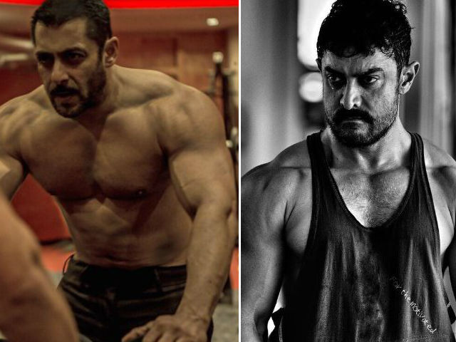 Aamir Khan Doesn't Think His Body is 'as Good as' Salman ...