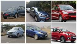 Volkswagen Ameo vs Honda Amaze vs Hyundai Xcent vs Maruti DZire vs Tata Zest vs Ford Figo Aspire: Specifications Comparison