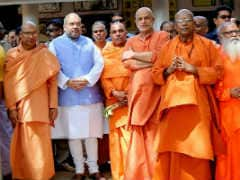 BJP Chief Amit Shah Visits Kerala's Sivagiri Mutt
