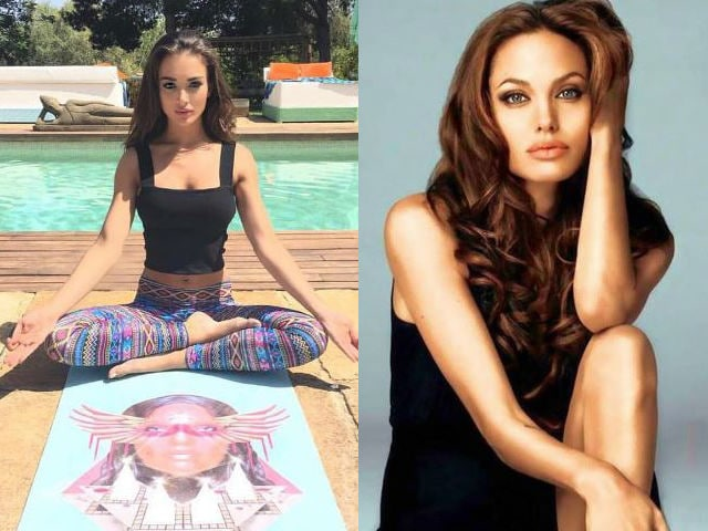 Amy Jackson Adopts Angelina Jolie's Workout Regime for 2.0