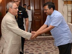 Arvind Kejriwal Meets President, Raises Issue Of 'Manhandling' Of AAP Councillor