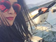 Actress Asin Pilots a Sea Plane in Italy, Posts Videos on Instagram