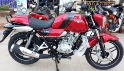 Bajaj V15, Made of INS Vikrant's Scrap Metal, Gets New Cocktail Wine Red Colour