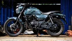 This Custom Made Bajaj V15 By Eimor Looks Battle Ready