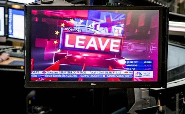 Leave As 'Soon As Possible', European Union Tells Britain