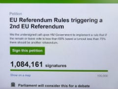 2 Million Sign UK Petition For Second EU Vote