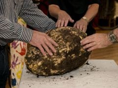 2000 Year Old Butter 'Football' Unearthed in Ireland