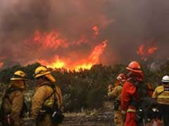 Firefighters To Battle Against Flames, Dry California Weather