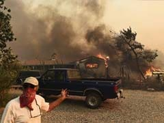 Massive California Wildfire Burns Homes Leaving Atleast Two Dead