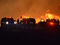 2 Dead In California Fires, Thousands Evacuated