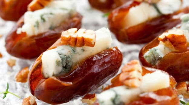 dates with blue cheese