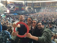 Coldplay Rocked Berlin. Deepika, Alia, Sonam, Malaika Were in Audience