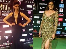 Fashion Ka Jalwa: Deepika, Sonakshi, Bipasha on IIFA Green Carpet