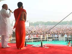 Over 1 lakh People Perform Yoga In Faridabad, Claims World Record