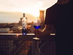 All Wine Lovers, Would You Like to Try the New Blue Wine?
