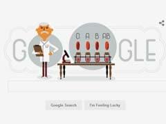 Google Observes Karl Landsteiner 148th Birthday With A Doodle