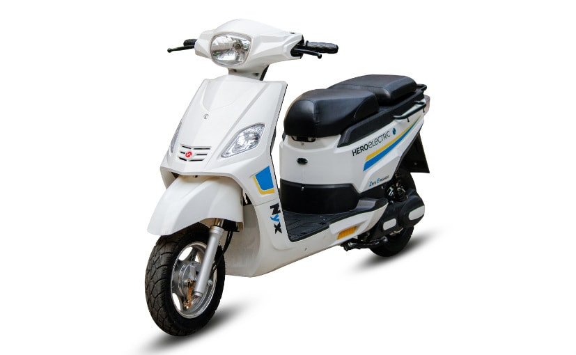 Hero Electric Launches New Model Hero Electric Nyx Ndtv