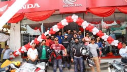 Honda Inaugurates Wing World Outlet in Jaipur