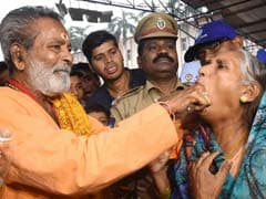 Thousands Of Asthma Patients Take Fish 'Prasadam' In Hyderabad