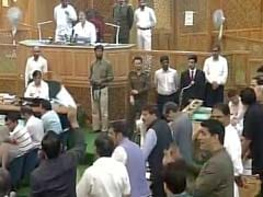 National Conference, Congress Stage Walkout From Jammu And Kashmir Assembly