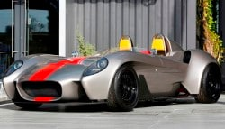Jannarelly Design 1 Roadster Makes its First Public Appearance in Dubai