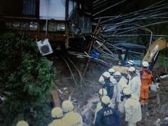 At Least Three Dead In Japan Landslides, Floods