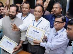 Mukhtar Abbas Naqvi, Mahesh Poddar Win Rajya Sabha Seats In Jharkhand