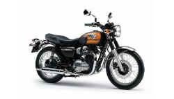 Kawasaki W800 Showcased At Company Dealership To Gauge Customer Response