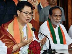 No Central Government Has Been As Clean As The NDA Regime: Kiren Rijiju