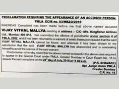 Vijay Mallya Gets Latest Warning In Newspaper Notice