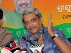 Attack On Union Ministers In Odisha 'Planned Action' By BJD: Manohar Parrikar