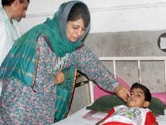 Chief Minister Mehbooba Mufti Conducts Surprise Check Of Hospitals In Jammu