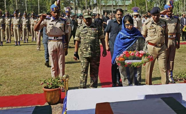 'Ashamed As A Muslim' Remark Lands Mehbooba Mufti In Trouble