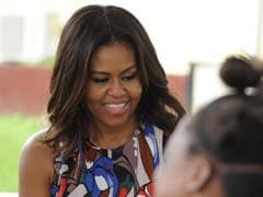 First Lady Michelle Obama Accepts White House Christmas Tree From Wisconsin