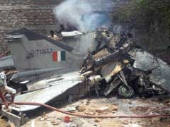 MiG-27 Fighter Plane Crashes Into Building In Jodhpur, Pilot Unhurt