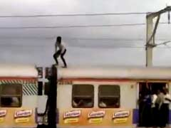 Police Searches For Man Who Decided To Stunt It Up On Mumbai Local