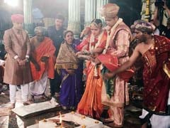 At Mysuru Royal Wedding, Boston-Educated Prince Marries Rajasthani Princess