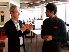 <i>Namaste</i>, Tim Cook: Apple CEO Travels With NDTV In India